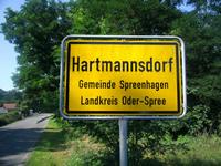Hartmannsdorf Spree